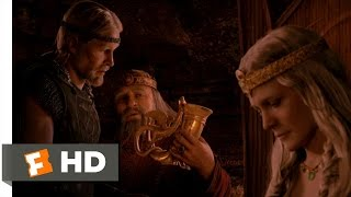 Beowulf (4/10) Movie CLIP - The Royal Dragon Horn (2007) HD