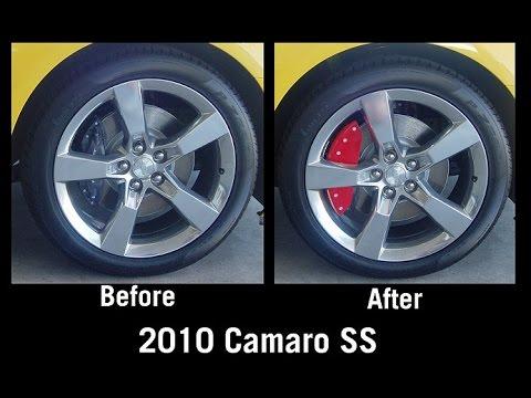 2010 2015 Camaro Caliper Covers by MGP
