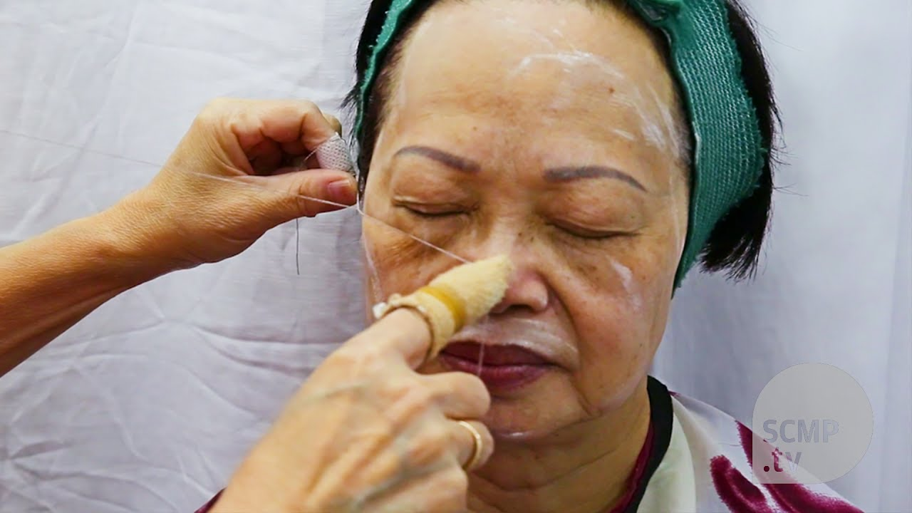 First time threading my face — Nick Ng's Phaneron