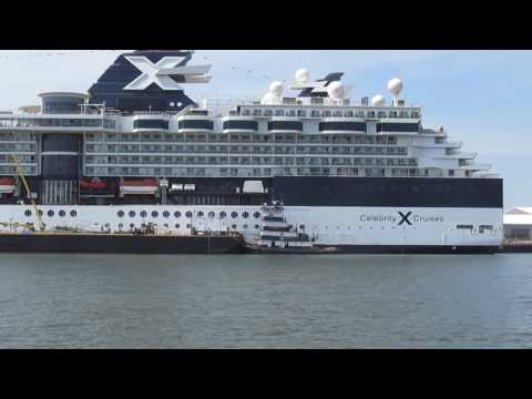 M/V Celebrity Summit at Cape Liberty, Bayonne, NJ.