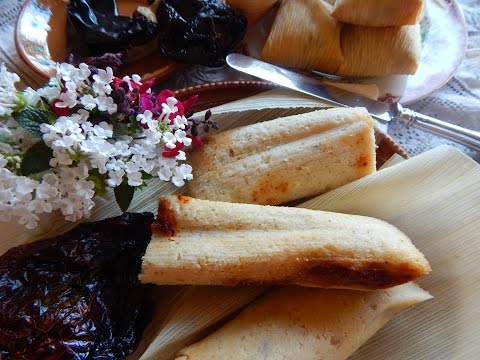 Homemade Tamales. How to Make Mexican Red Tamales