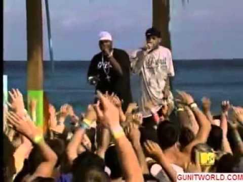 50 Cent - Disco Inferno ft. Lloyd Banks Live at MTV Spring Break