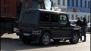 Шофер самосвала на перекрестке протаранил «Мерседес».MestoproTV