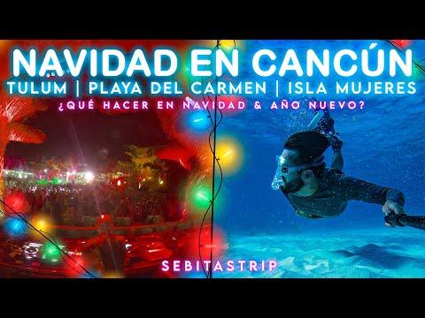 🧜♂️🌎QUÉ HACER EN NAVIDAD Y AÑO NUEVO EN CANCÚN, TULUM Y MÁS... CARIBE MEXICANO @sebitastrip