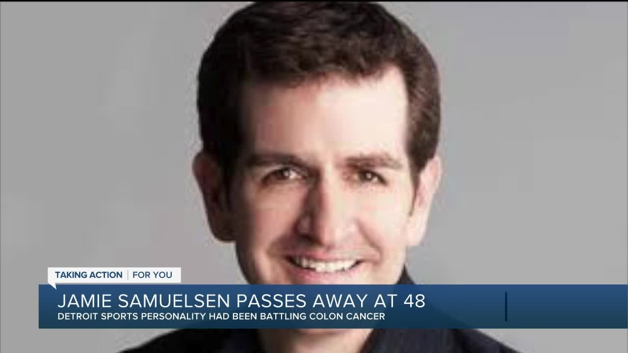 Longtime Detroit sports radio host Jamie Samuelsen dies at 48