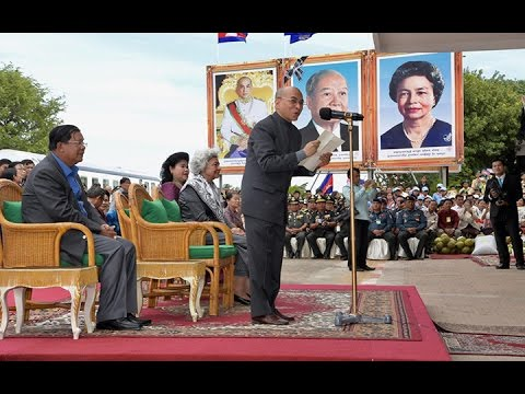 2016 12 30 His Majesty King go to Preah Sihanouk Province