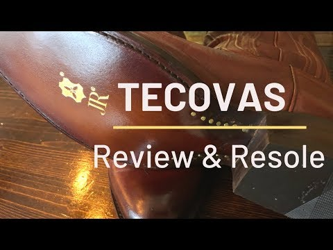TECOVAS Boots - Review & Resole