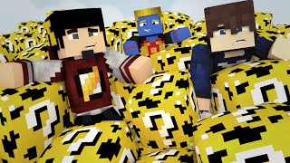 Minecraft: ESCADONA - LUCKY BLOCK ESPONJA ‹ AM3NlC ›