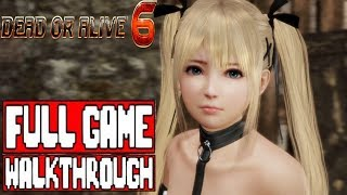 DEAD OR ALIVE 6 Gameplay Walkthrough Part 1 Full Game - No Commentary (DOA6 Story Mode)
