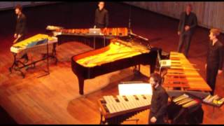 Canto Ostinato for 1 piano 2 vibraphones and 2 marimbas 7 April 2013