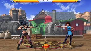 UGBZ - KOFXIV - kkumar628 (Kyo/Yuri/Iori) vs. TSF (Yuri/Iori/Benimaru)