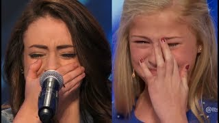 Top 10 ♥ WOMAN STARTS TO CRY ♥ EMOTIONAL On America