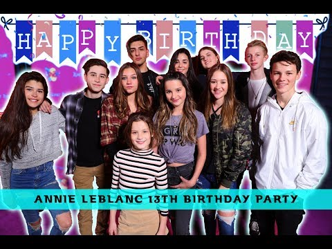 Download Youtube: ANNIE IS 13!! BEHIND THE SCENES BIRTHDAY VIDEO