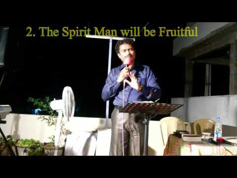 "David Rayi Ministries:""THE SPIRIT MAN""- Telugu Christian message"