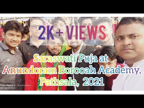 Saraswati Puja at Anundoram Borooah Academy, Pathsala 2021 ||ARBA||