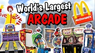 Playing Arcade Games at the World