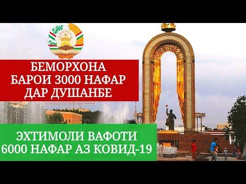 Хабархои Имруз 04.05.2020. Беморхона барои 3000 нафар дар Душанбе