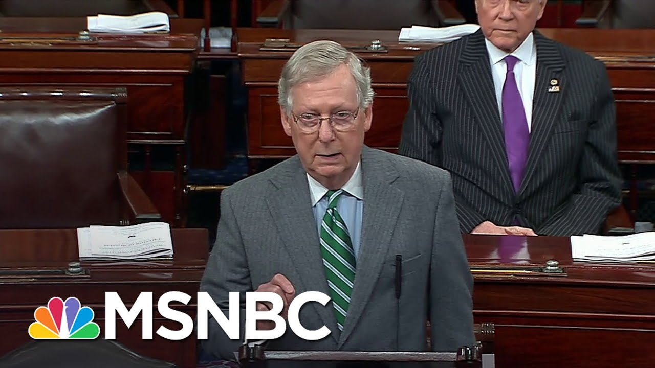 Mitch McConnell's Message to Justice Stephen Breyer: Quit Now