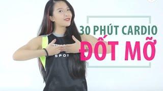 Cardio đốt mỡ với 30 phút mỗi ngày   Hana Giang Anh   Workout #24