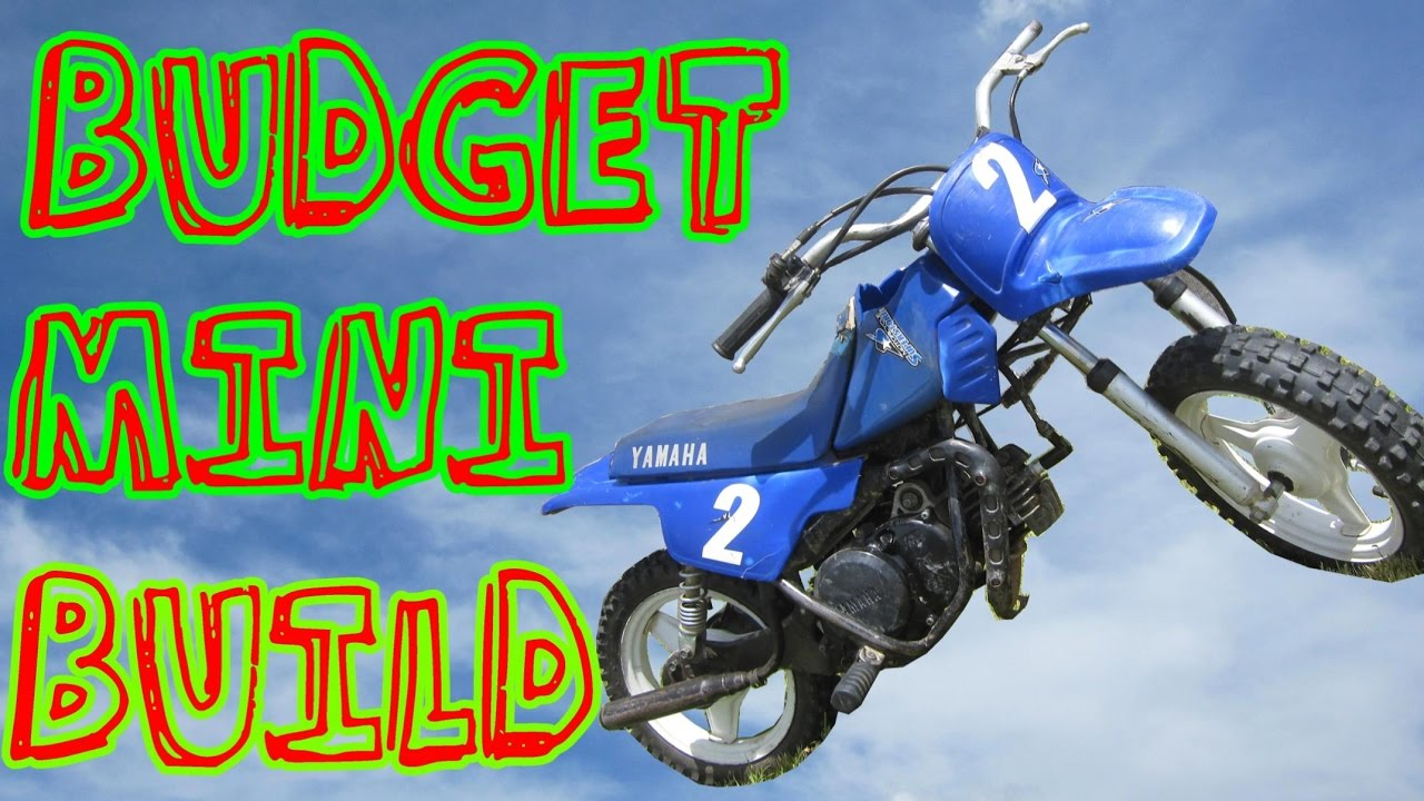 $175 Yamaha PW50 Project - Part 1