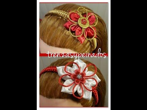 Vincha o Diadema de Navidad Para Niñas , Christmas headband for girls.