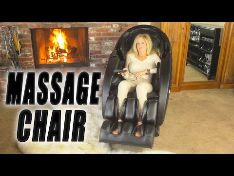 Full Massage Chair | BEST Zero Gravity | Toes To Head - Heated & Blue Tooth Music Ootari