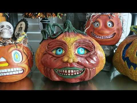 New Creepy Jack O Lantern Halloween 2019