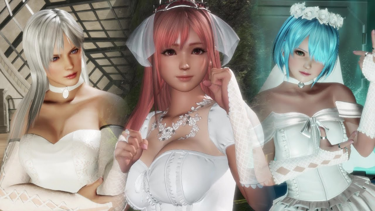 CHAOS PRODUCTIONS INC - Dead or Alive 6 - All Fatal Rush and Break Blow Attacks (Wedding Edition)