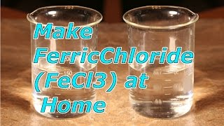 DIY-MAKE FerricChloride(FeCl3) AT HOME FOR PCB ETCHING.