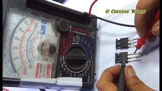 How To Check IGBT Transistor And Rectifier Of A Induction Cooker With Voice In Bengali Language