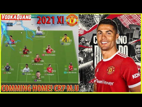 C. RONALDO Ôm cua Comeback Man Utd, Cảm xúc của vỡ òa của Quang và Best Team M.U đương đại FIFA 4