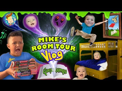 HOUSE TOUR 2.0  Mike's Room Tour Gives Us Goosebumps + Shawn Gets Sneaky! FUNnel Family Vlog