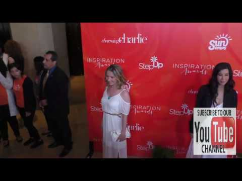 Beverley Mitchell at the Step Up