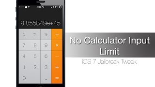 No Calculator Input Limit gets rid of the digit limit in the Calculator - iPhone Hacks