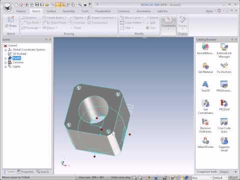IRONCAD 3D-import DWG