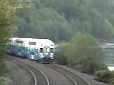 Everett to Seattle Sounder Commuter Train