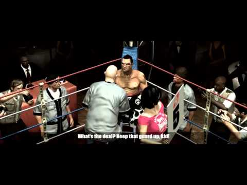 "Don King Presents Prizefighter - Career Mode part 14 ""straight right cheese"""