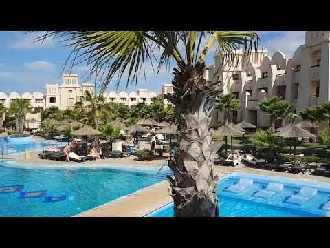 Riu Touareg Cape Verde Boa Vista a walk around the main pool. May 2018