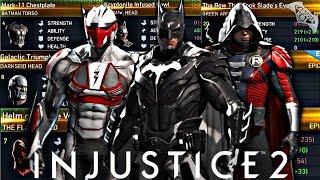 Injustice 2 - Epic Gear Showcase!