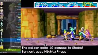 Golden Sun: The Lost Age Any% Speedrun in 5:53:34 (WR until 18/07/16))