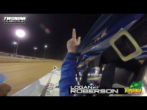 #ONBOARD Logan Roberson : (Virginia Motor Speedway / 5-6-2017)