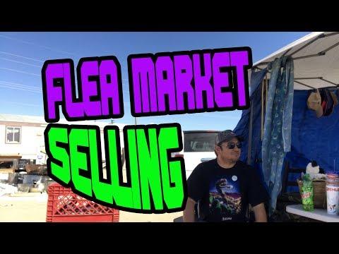 FLEA MARKET SELLING JUNK FOR FAST CASH