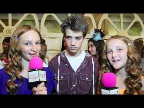 Actor Brandon Tyler Russell interview at the 2nd Annual Rock N Roll LA Benefit