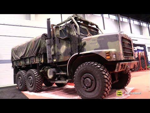 OshKosh Military Armoured Truck - Walkaround - 2019 Chicago Auto Show