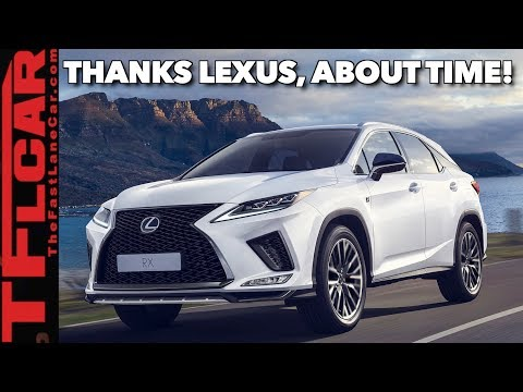 The New 2020 Lexus RX Is Bolder And Has The ONE Feature You Have Been Asking For!