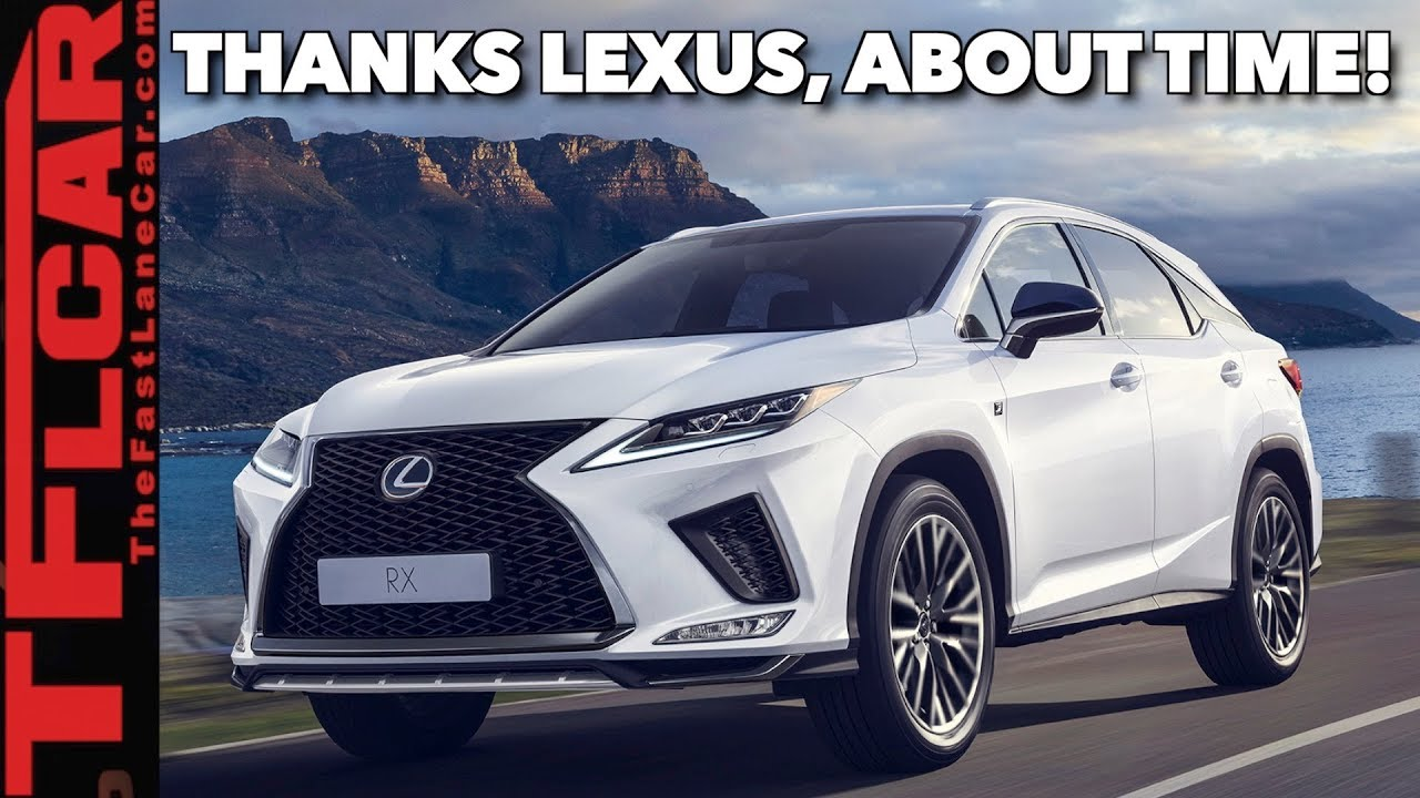 2020 Lexus RX 450h Redesign, Specs, Price, And Release Date >> The New 2020 Lexus Rx Is Bolder And Has The One Feature You Have Been Asking For