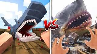 Video Minecraft vs Real Life: How to Go Fishing! (Minecraft Animation) download MP3, 3GP, MP4, WEBM, AVI, FLV September 2017