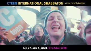 12th Annual INTL Shabbaton Promo