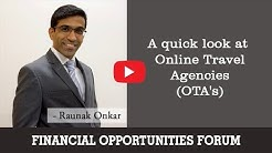 A quick look at Online Travel Agencies (OTA's)