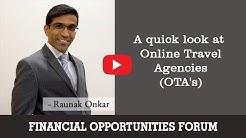 A quick look at Online Travel Agencies (OTA's)